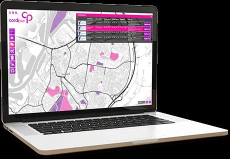 Door middel van een eenvoudige app houden uw chauffeurs bij welke activiteit ze uitvoeren en u kunt dat realtime volgen.